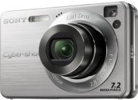 Цифровая камера Sony Photo DSC-W120 7.2MP Silver NEW