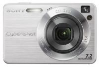 Цифровая камера Sony Photo DSC-W110 7.2MP Silver NEW