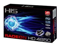 512MB PCI-E RadeOn HD4850 HIS DDR