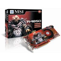 512MB PCI-E RadeOn HD4850 MSI R4850-T2D512