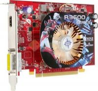 512MB PCI-E RadeOn HD3650 MSI