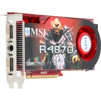 512MB PCI-E RadeOn HD4870 MSI