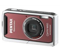 Цифровая камера Pentax Optio W60 10.3MP Coral Pink NEW