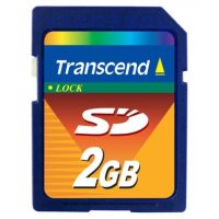 Secure Digital Card 2048MB Transcend