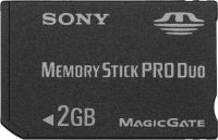 Memory Stick 2048MB PRO DUO Sony + adapter