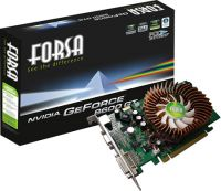 512MB PCI-E GeForce 8600GT Forsa